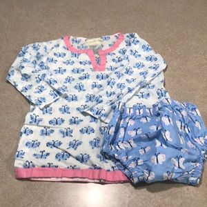 Swim coverup and bottoms size 2T-3T
